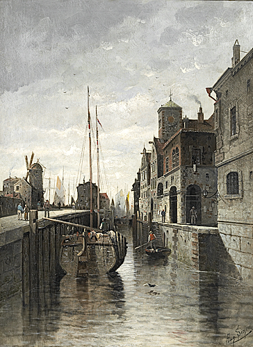 August von Siegen - Partie in Amsterdam
